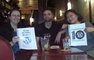 Patricia, Nick, Lapy. In Geneva, Switzerland. #WP10