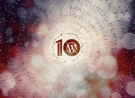 WordPress 10′uncu Yıl dönümü